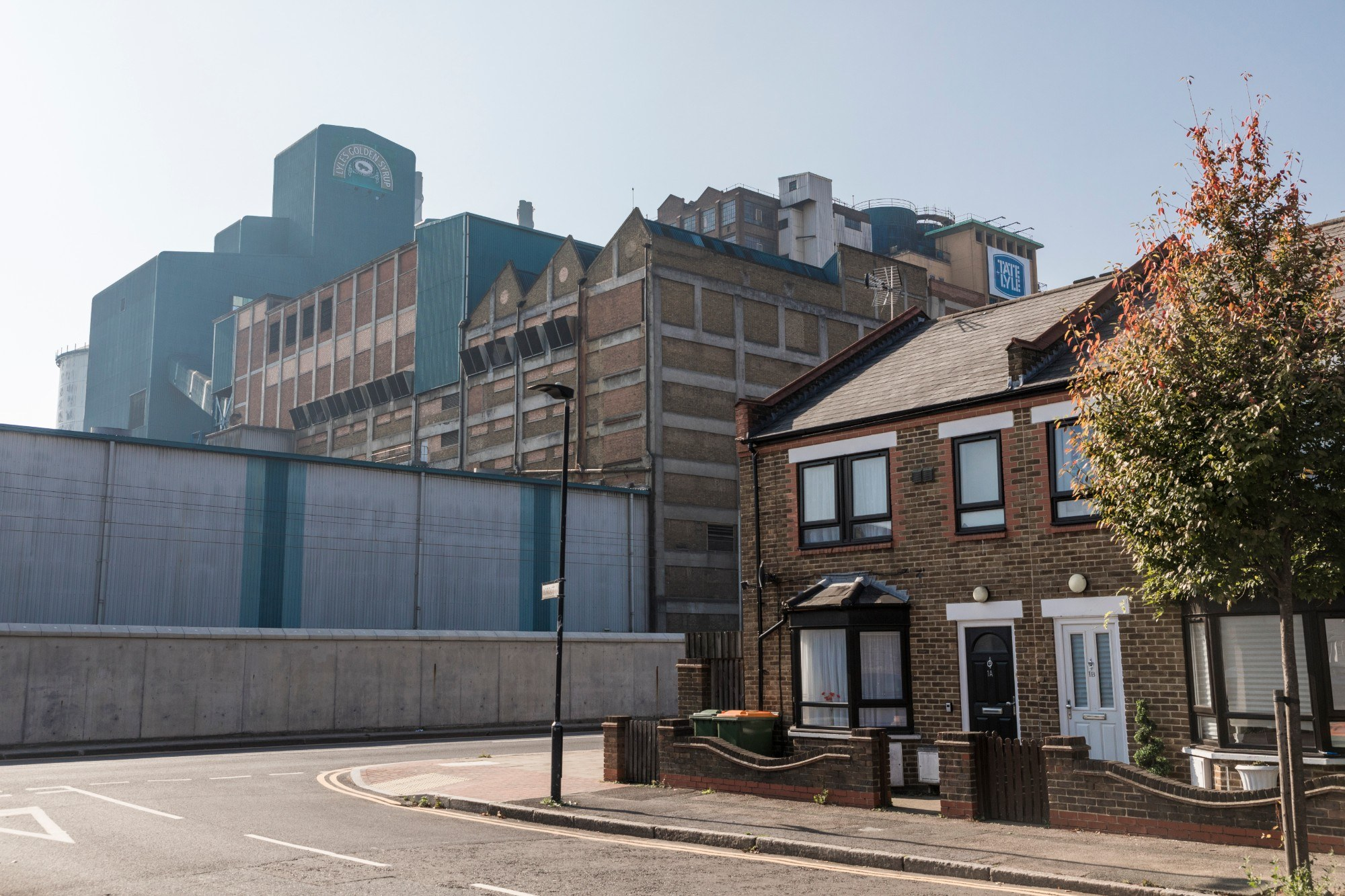 Tate & Lyle building exterior from the street