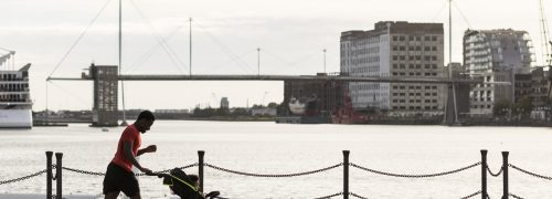 Clear open spaces, full hearts, can't lose: getting active in the Royal Docks