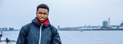 Tyrone Ferguson at the Royal Docks
