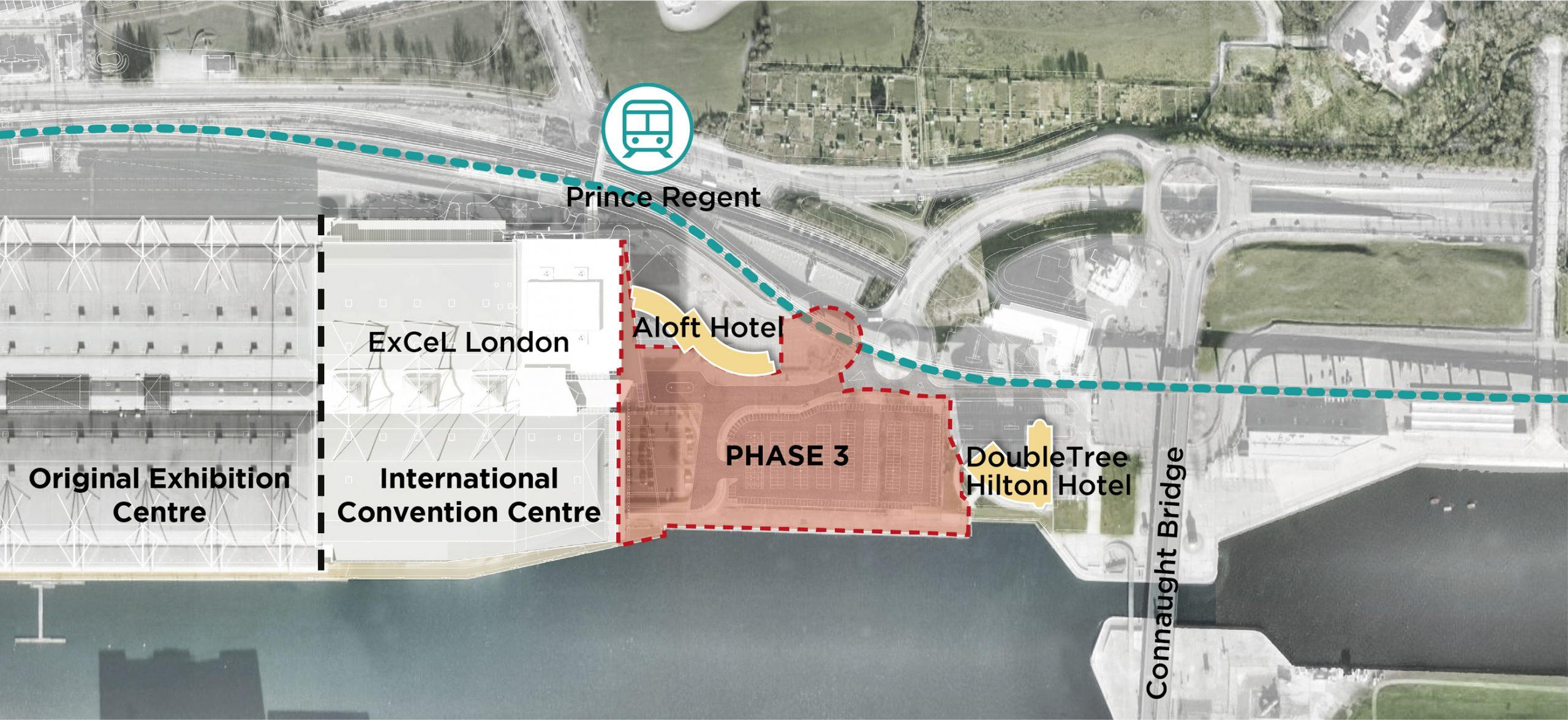 ExCeL plans map of phase 3 expansions