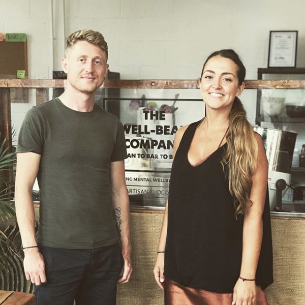 Charlie and Laura of Well Bean Co