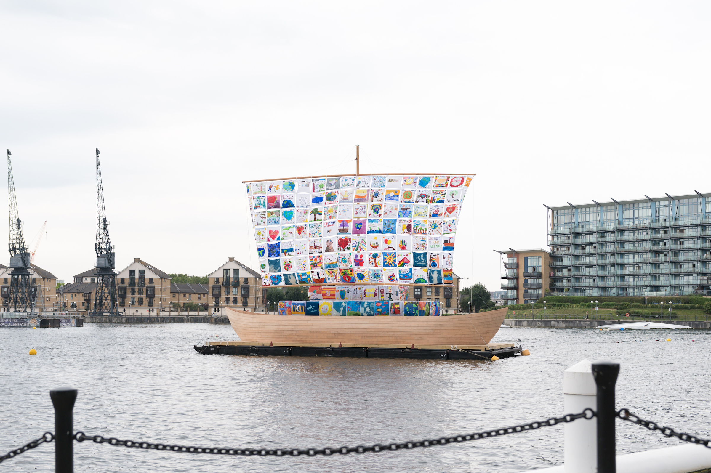 The Ship of Tolerance in the Royal Docks