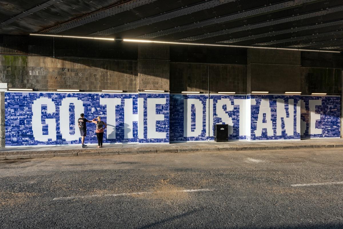 Go the distance by Jessie Brennan