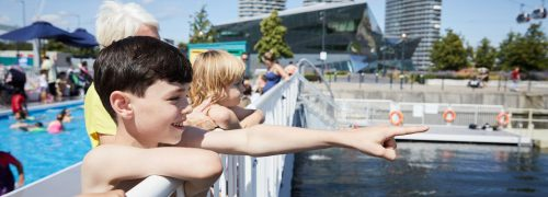 Last chance: swim in the Royal Docks lido