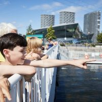 Last chance: swim in the Royal Docks lido