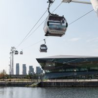 The Crystal and Emirates Cable Car