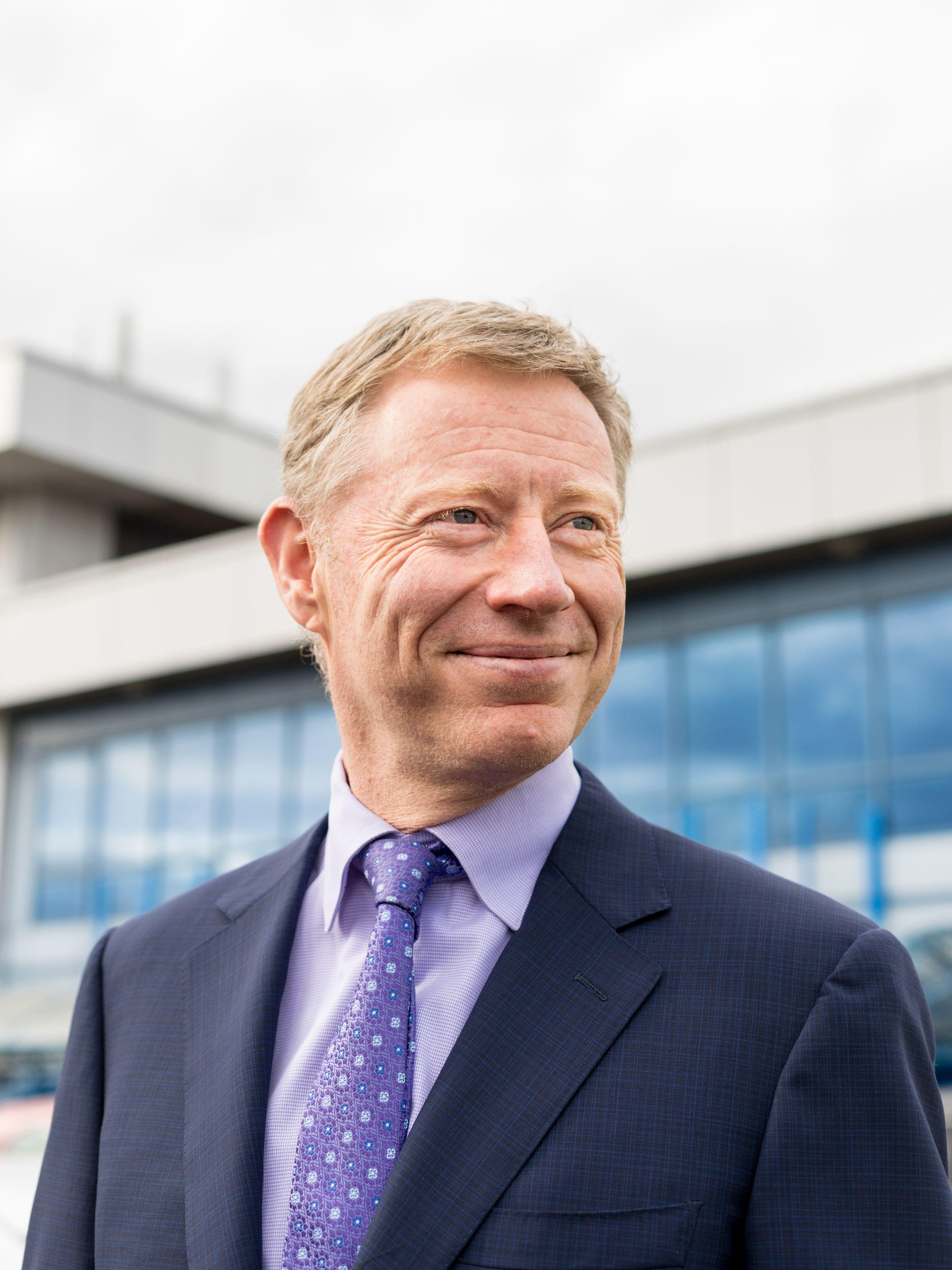 Robert Sinclair, London City Airport CEO