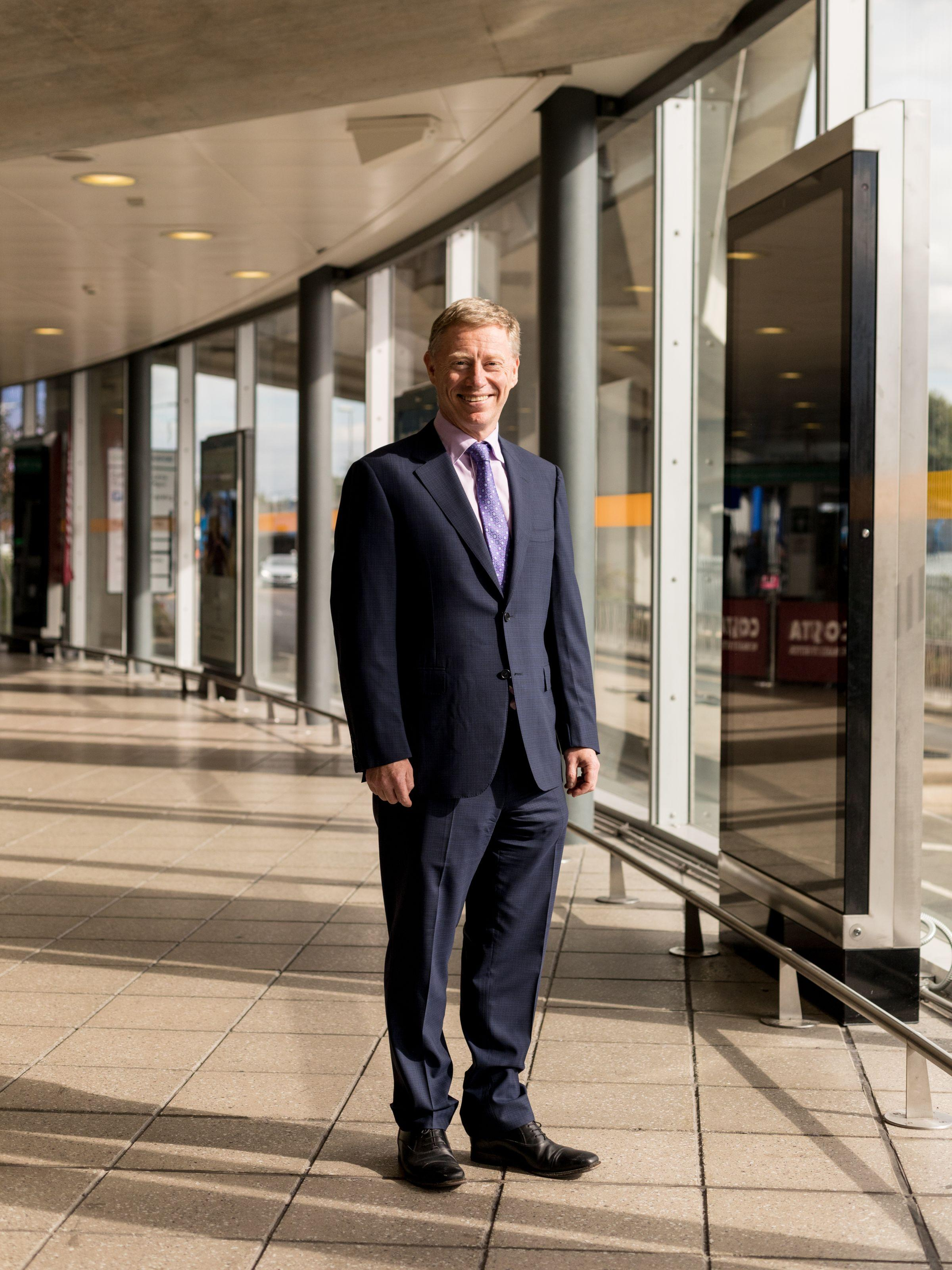 Robert Sinclair - CEO of London City Airport