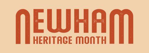 Newham Heritage Month 2021 Logo