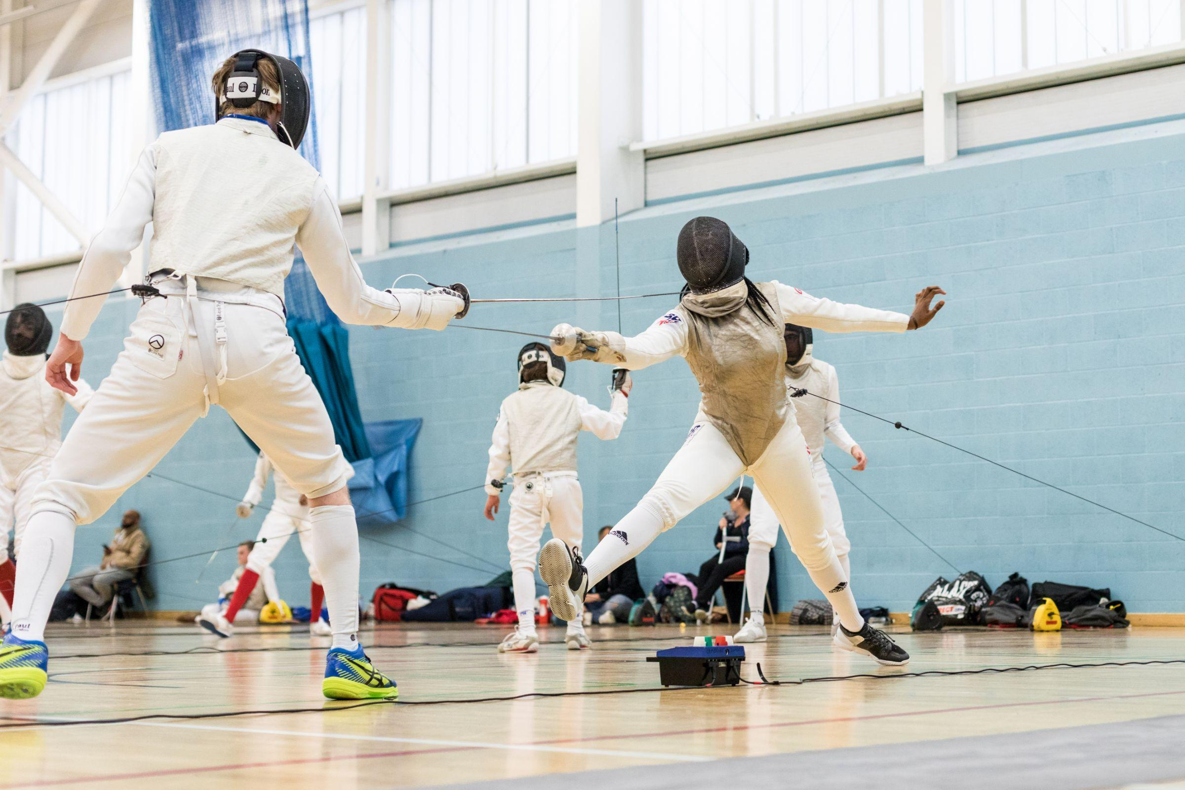 Newham Swords fencing