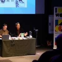 Newham Word Festival: live drawing and zombie jokes with Julian Clary