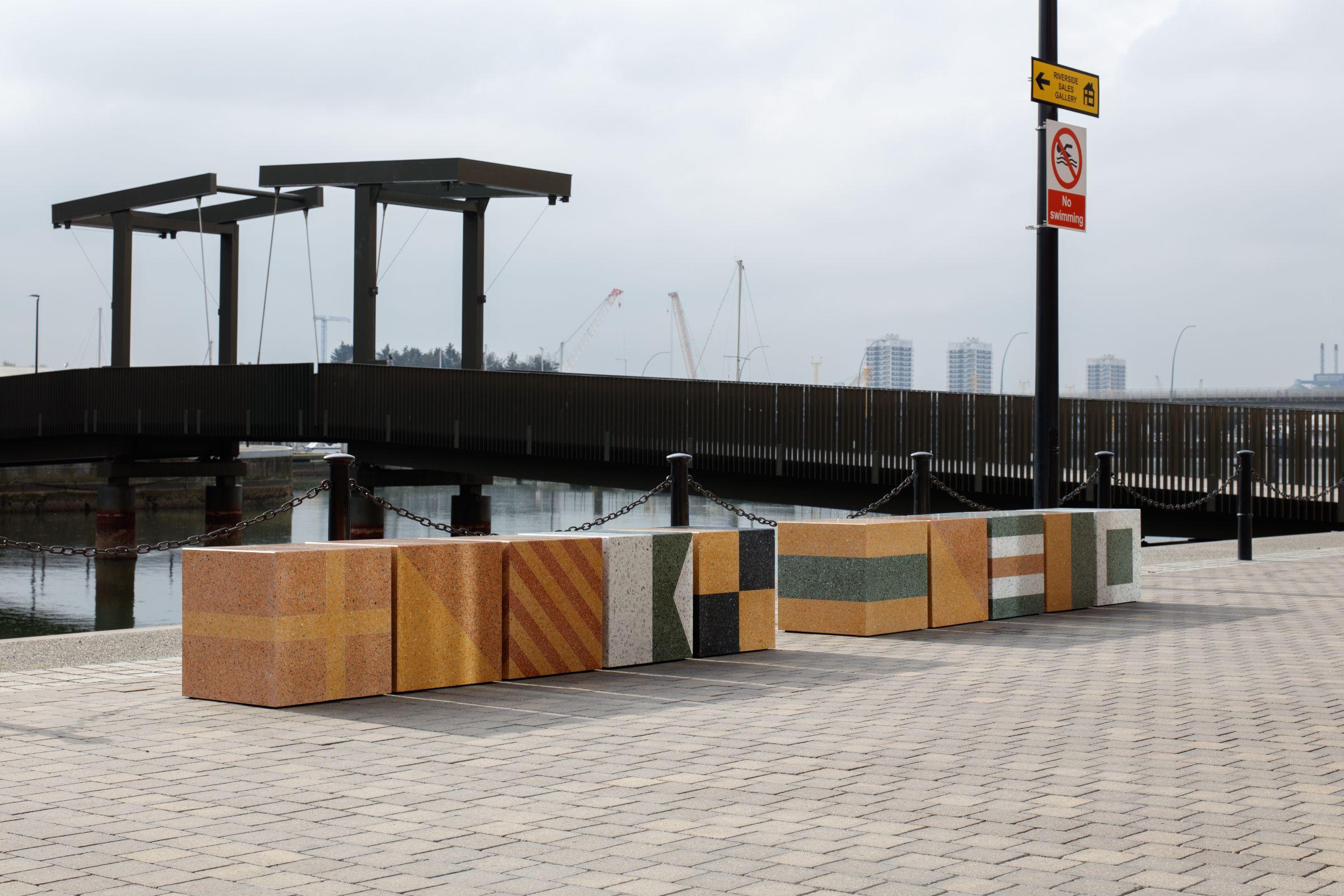 Parallel Collective's Semaphore sculpture