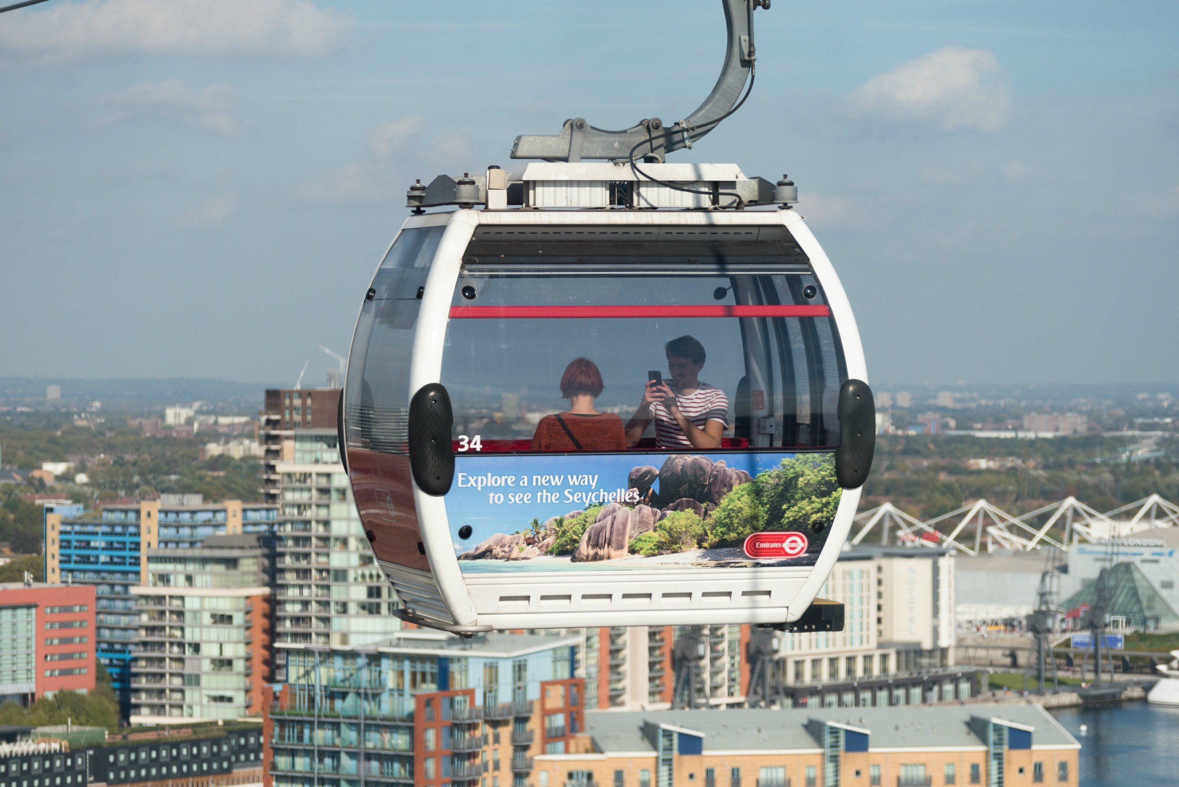 The Emirates Cable Car