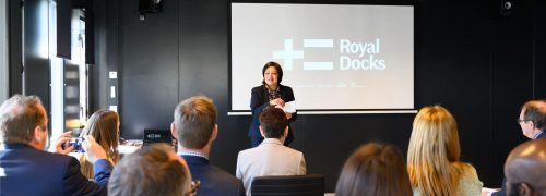 Sharing global experiences: City of Cape Town visit the Royal Docks