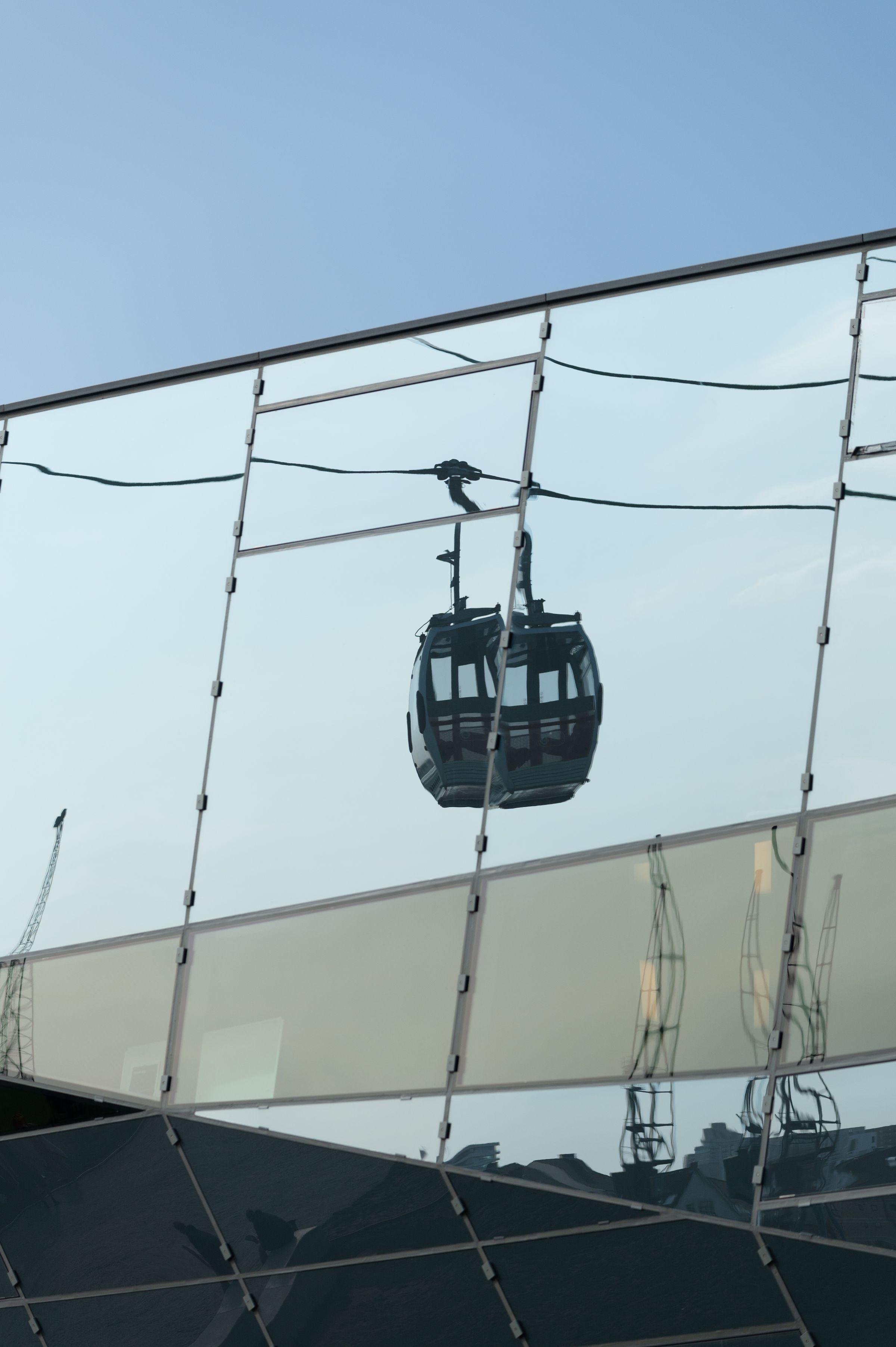 Emirates Airline Cable Car reflection