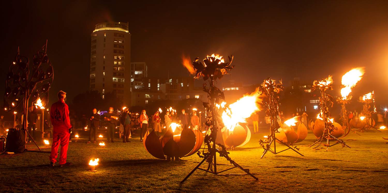 Fire performance of Fire Garden