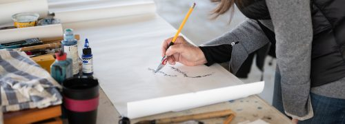 Watch artists at work without even stepping inside