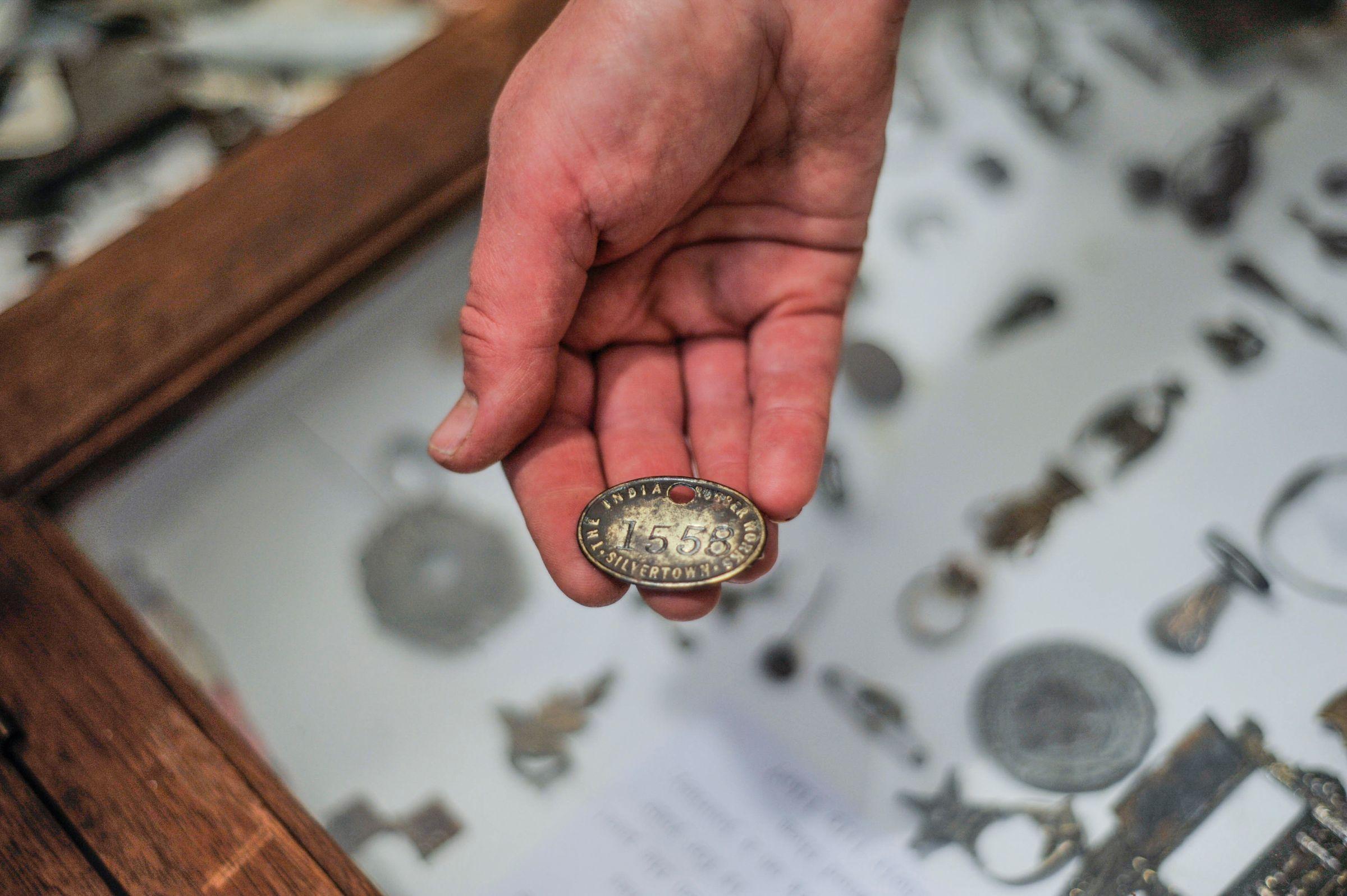 Salvage found near the Royal Docks