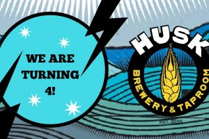 Husk Brewing is turning 4!