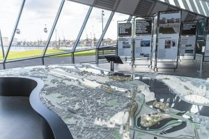 Model of the Royal Docks