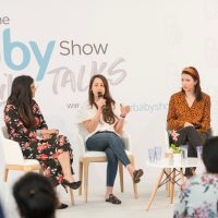 A panel discussion at The Baby Show