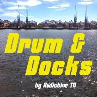 Drum & Docks by Addictive TV logo