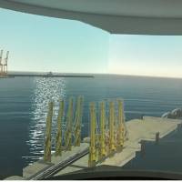 CGI Image of the Royal Docks