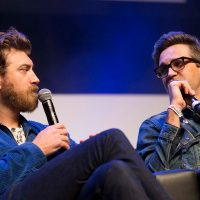 A panel discussion at VidCon London